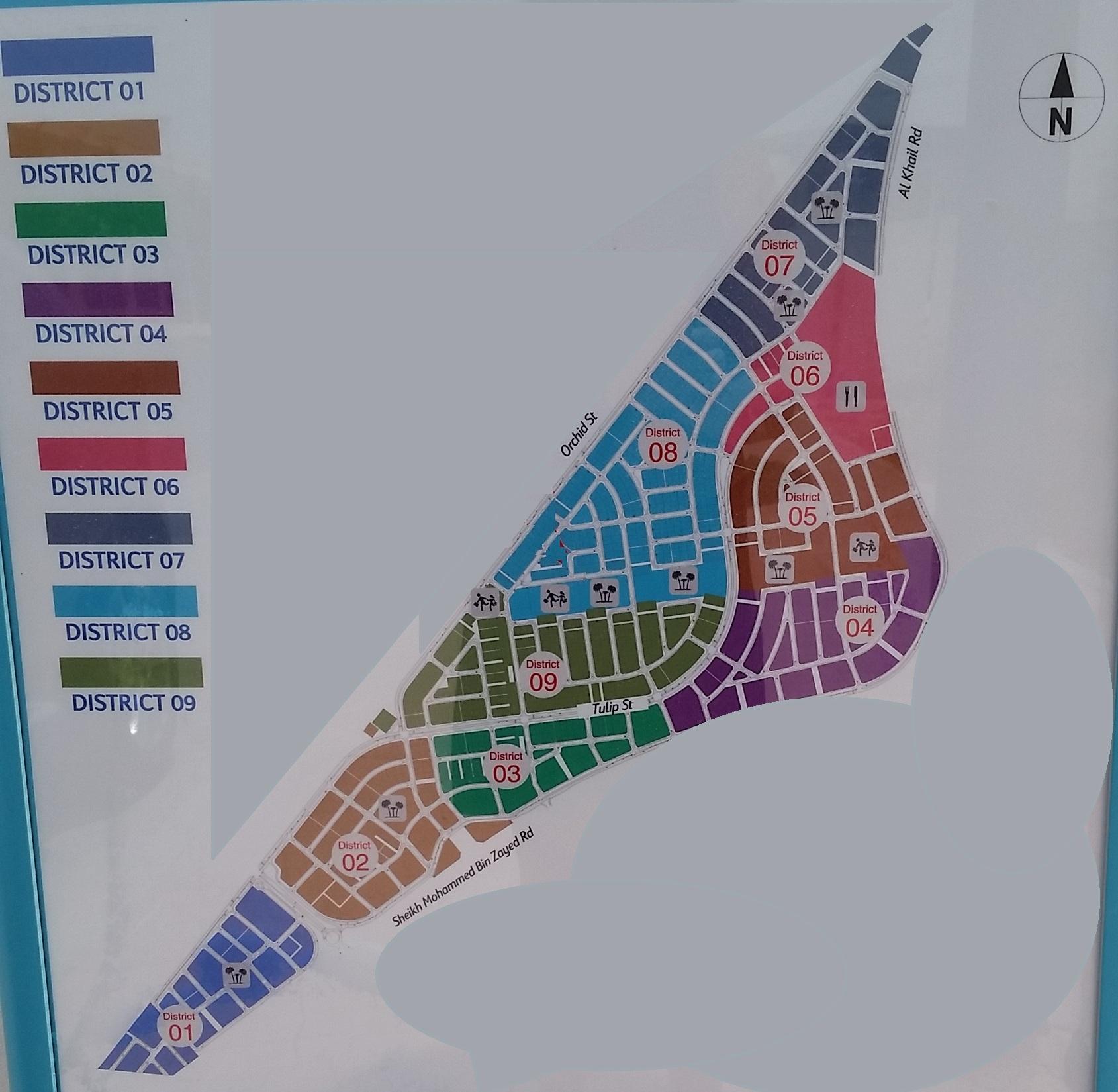 Maps Jumeirah Village Triangle