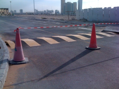 new road humps (29 Nov 2012)