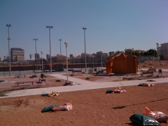JVT Central Park, getting ready for grass (5 December 2012)