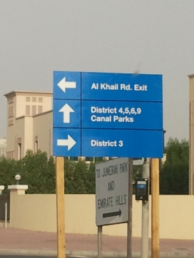 At long last, JVT has some directional signage.