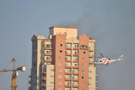 Fire in JVT