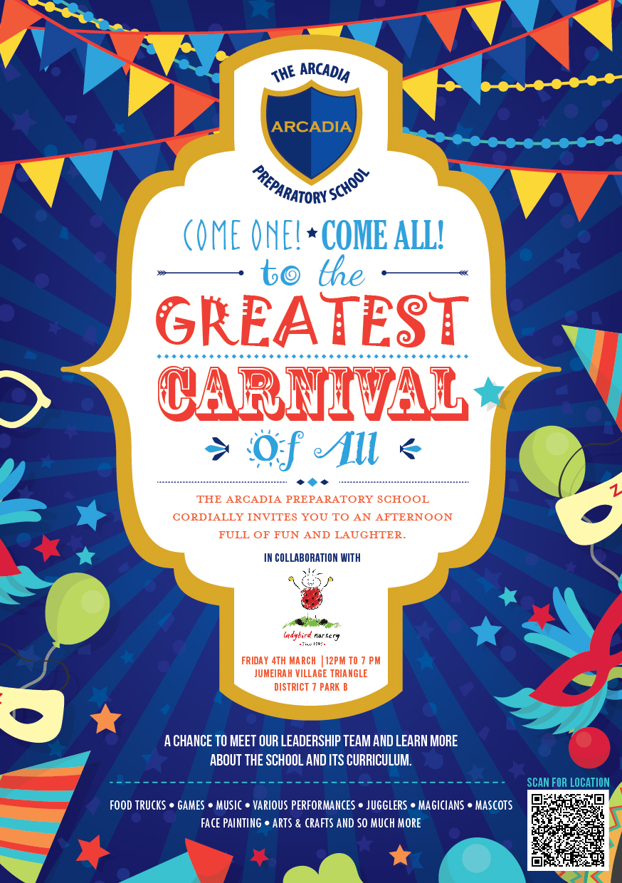 Don T Miss The Family Fun Carnival On Friday Jumeirah