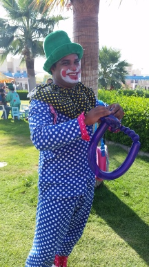 Arcadia fun fair 2016 clown