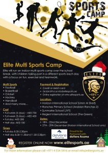 Multi Sports New Camp Christmas 2016