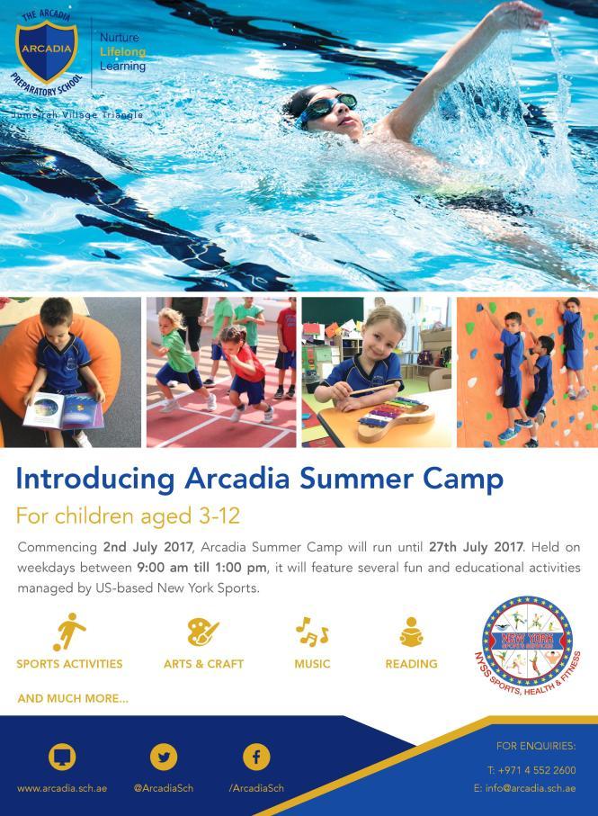 Arcadia Summer Camp