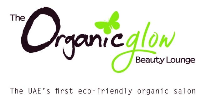 Organic Glow Logo with tagline