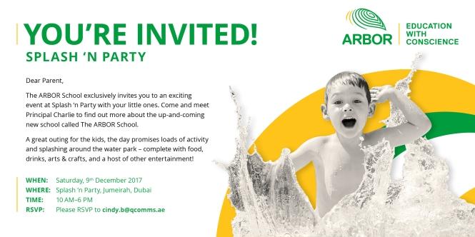 Arbor_SplashNParty_Invite R2 Generic