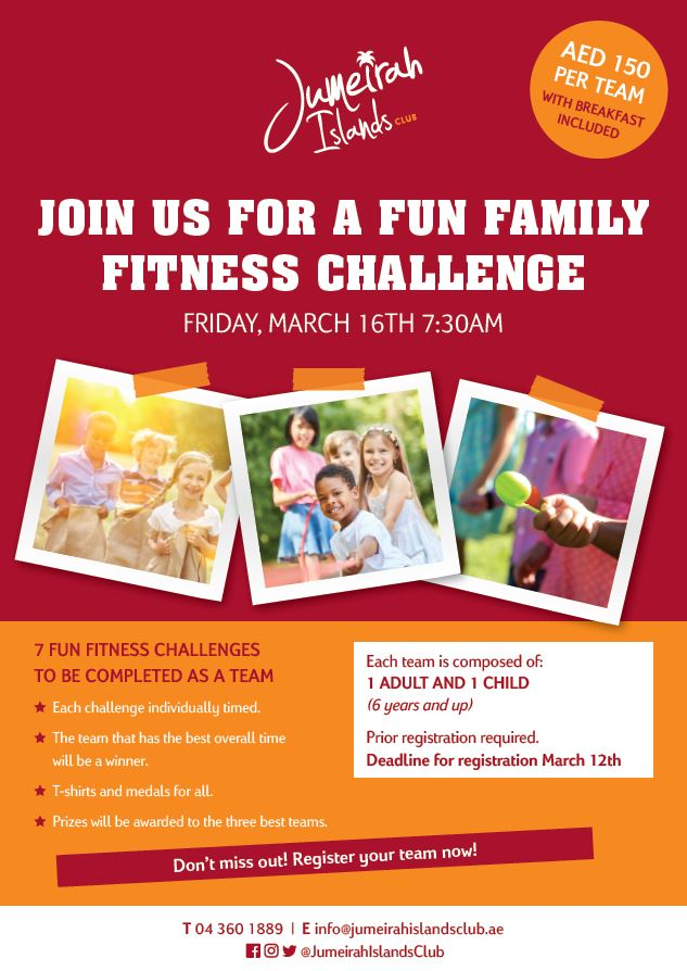 JIC Family Fitness Challenge