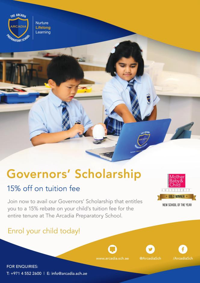 Governors Scholarship