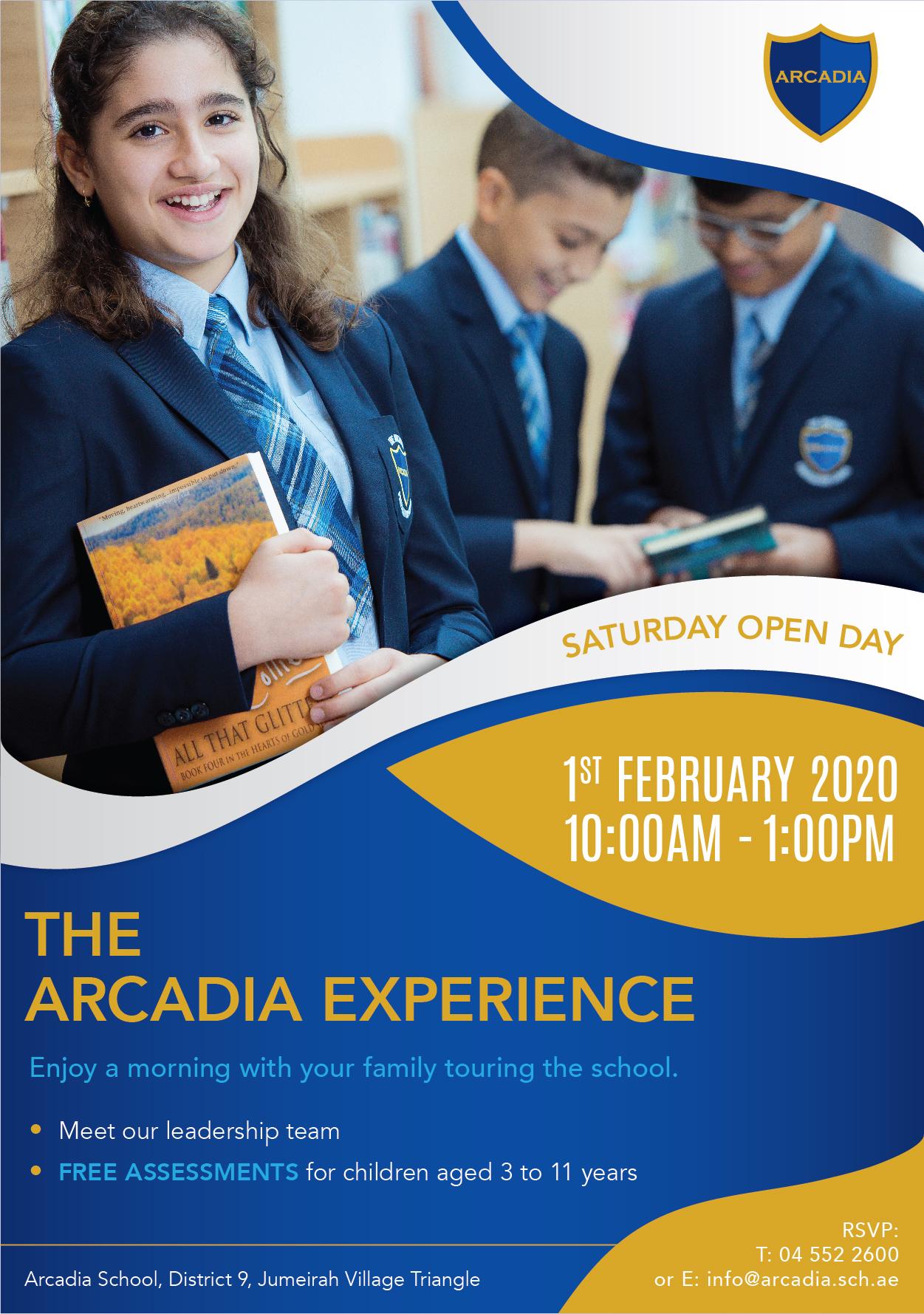 Arcadia Experience_Feb2020 Flyer-01